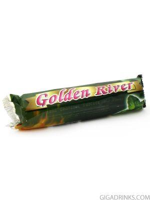 Ароматизиран въглен за наргиле Golder River - Мента