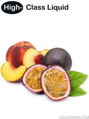 Peach Maracuja (Pfirsich Maracuja) 10ml by High-Class Liquid - концентрат за ароматизиране на течности за електронни цигари