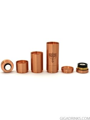 Nemesis Copper Mechanical mod Clone