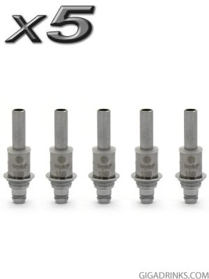 Kanger Dual Coil Head for Aerotank, Protank 3/3 Mini, Evod 2/Glass, T3D - 5pcs