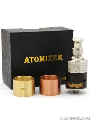 Onslaught RDA Atomizer Clone with 3 rings