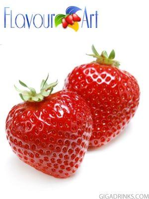 Strawberry 10ml / 9mg - никотинова течност за ел.цигари Flavour art