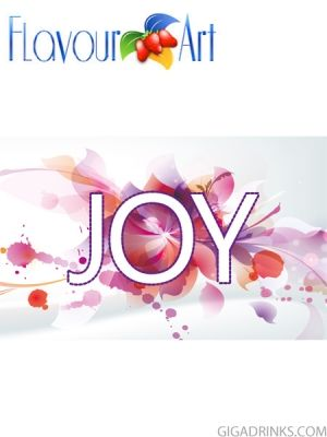 Joy 10ml / 18mg - никотинова течност за ел.цигари Flavour art