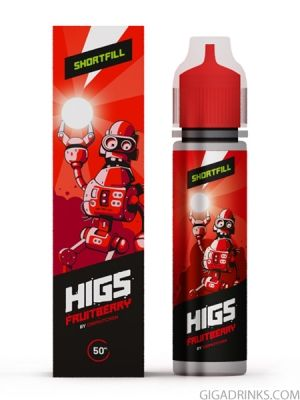 Fruitberry 50ml 0mg - Higs Shake and Vape
