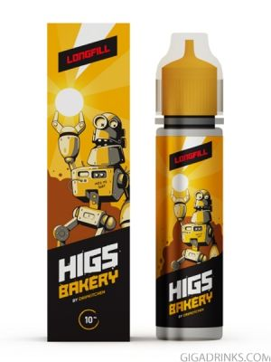 Bakery 50ml 0mg - Higs Shake and Vape