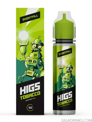 Tobacco 50ml 0mg - Higs Shake and Vape